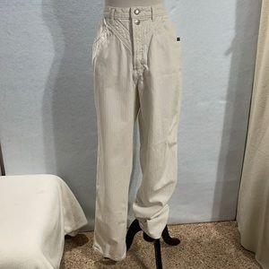 Rockies Vintage White Denim High Rise Jeans